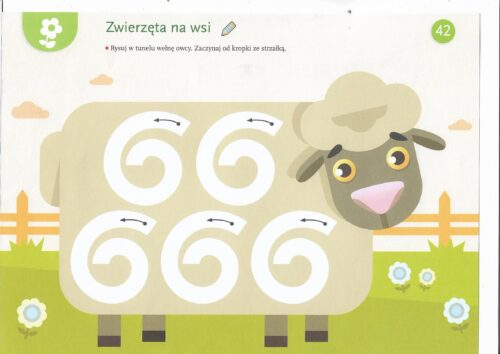 Karta pracy - owca