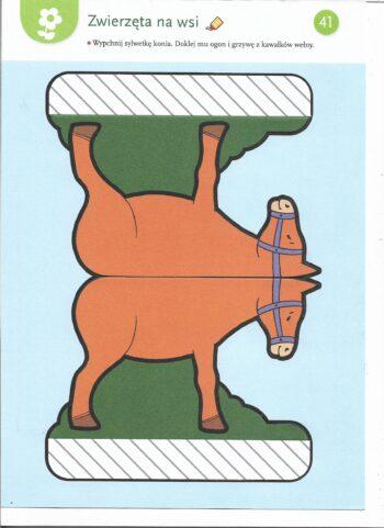 Praca plastyczna - koń